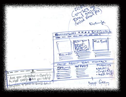 website-design-sketch