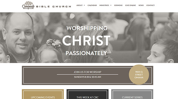 bible-church-website-design