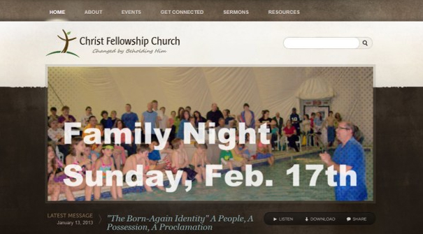 christ-fellowship-church-website-design