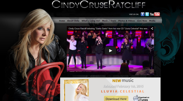 cindy-cruse-ratcliff-gospel-website-design