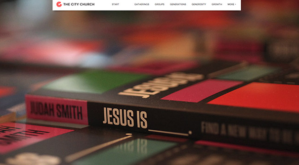 city-church-website-design