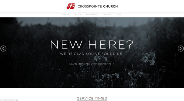 crosspointe-church-website-design