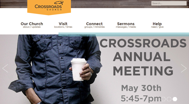crossroads-church-website-design