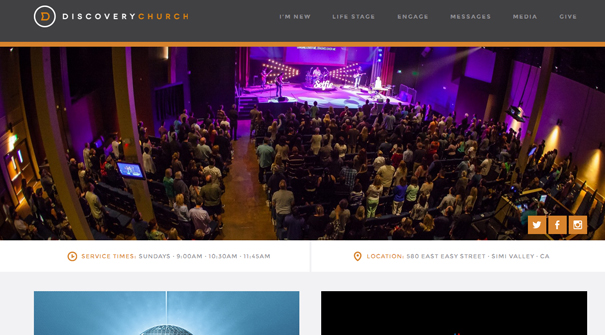 discovery-church-website-design