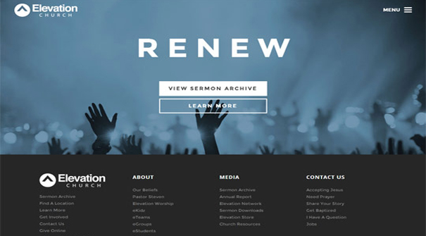 elevation-church-website-design