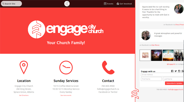 engage-church-website-design