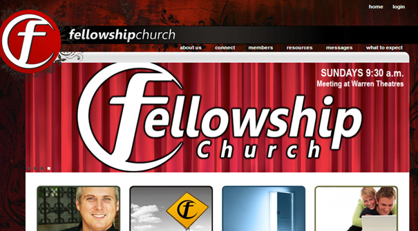 fellowship-church-website-design