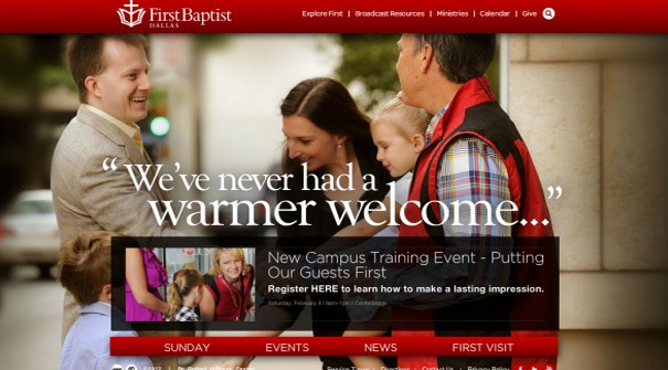 first-baptist-dallas-church-website-design