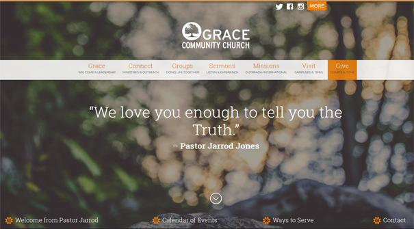 grace-community-church-website-design