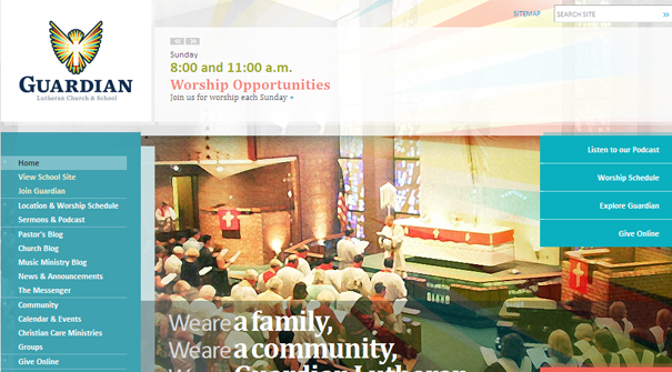 guardian-lutheran-church-website-design