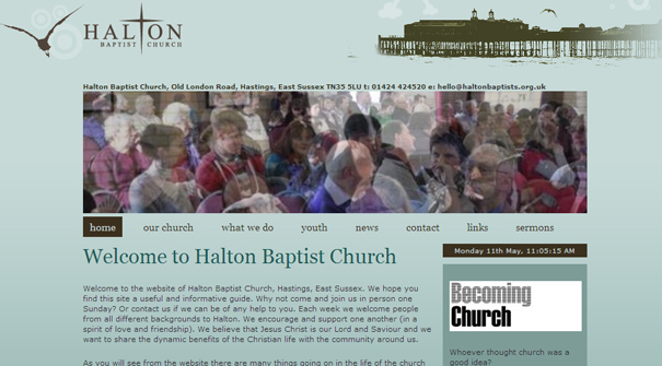 halton-baptist-church-website-design