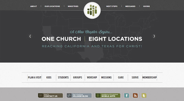 hillside-church-website-design
