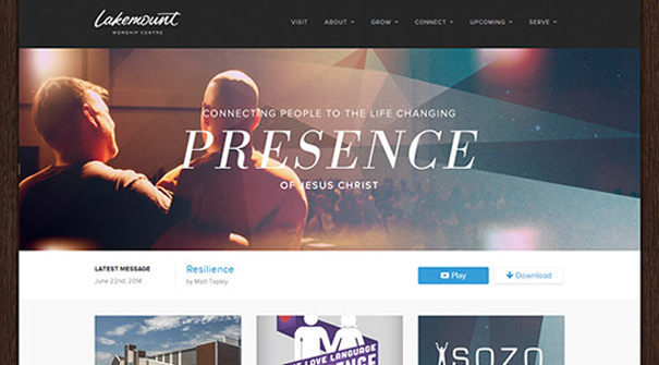 lake-mount-church-website-design