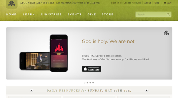 ligonier-church-website-design