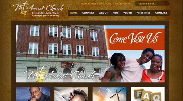 mount-ararat-church-website-design
