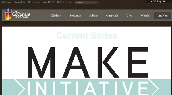 new-covenant-bible-church-website-design
