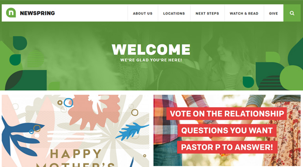 newspring-church-website-design