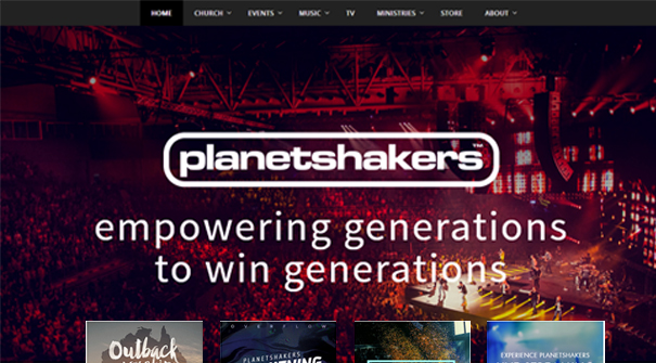 planetshakers-church-website-design