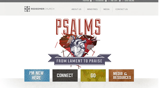 redeemer-church-website-design