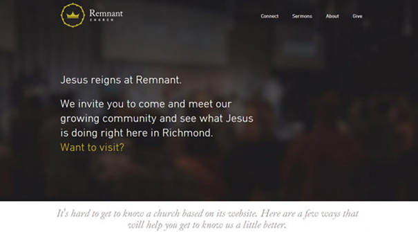 remnant-church-website-design