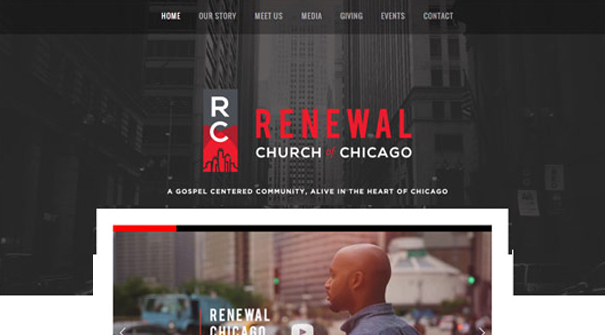 renewal-church-of-chicago-website-design