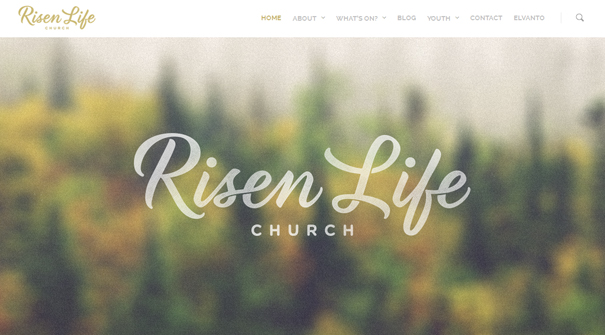 risen-life-church-website-design