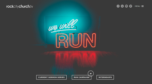 rockcity-church-website-design