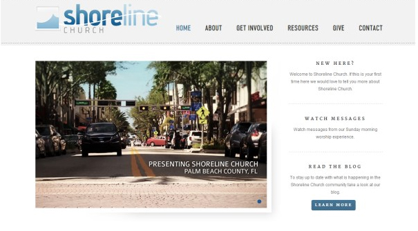 shoreline-church-website-design