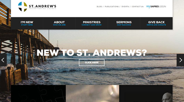 st-andrews-presbyterian-church-website-design