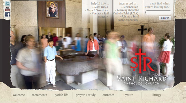 st-richard-catholic-church-website-design