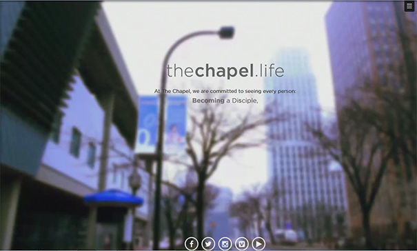 the-chapel-website-design
