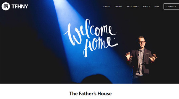 the-father's-house-church-website-design