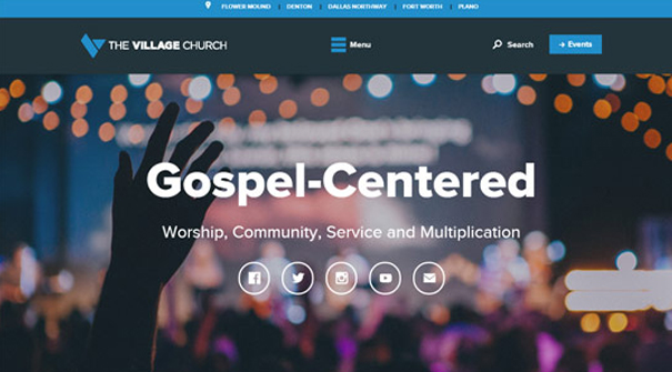 the-village-church-website-design