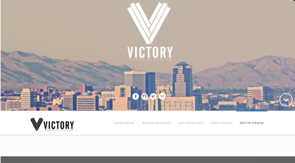 victory-worship-centre-website-design