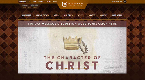 watermark-church-website-design