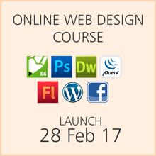 Online Web Design Course Launch Date