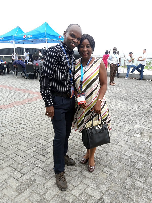 Sylvanus Nwafor and Dorothy Nwafor